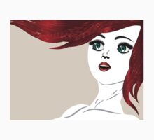 Girl with red hair 4 Baby Tee