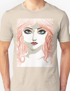 Girl with red hair 5 T-Shirt