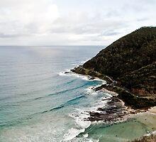 View from Great Ocean Road by Jose Fernandez