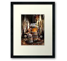 CHUNKIE Forest Framed Print