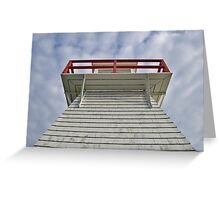 Up the light Greeting Card