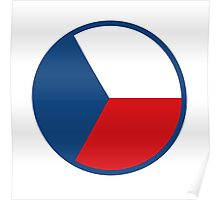 Czech Air Force - Roundel Poster