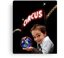 Circus Boy Canvas Print