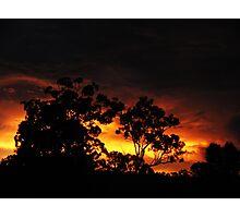 Molten Sky Photographic Print