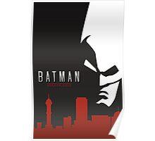 Batman Arkham City Simplistic Poster