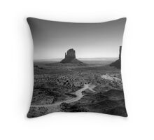 Monoliths Throw Pillow