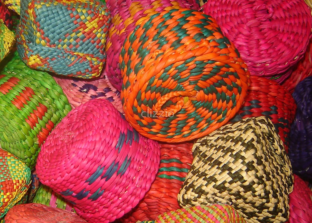 Mexican Baskets  by clizzio
