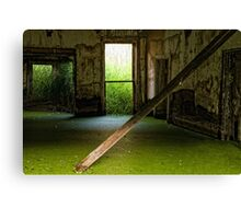 ethereal green Canvas Print