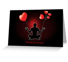 The big one is for you! Greeting Card