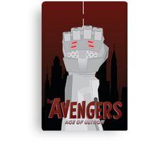 Avengers: Age of Ultron Simplistic Canvas Print