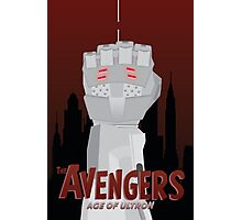 Avengers: Age of Ultron Simplistic Photographic Print