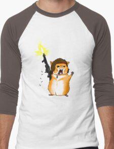 Hamster Rambo Men's Baseball ¾ T-Shirt