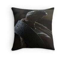 The Saddle Throw Pillow