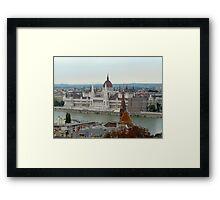 Parliament Budapest Hungary Framed Print