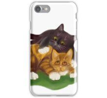 Another Tussle between Two Kittens iPhone Case/Skin