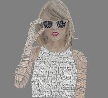 Taylor Swift Typography by Kristel To
