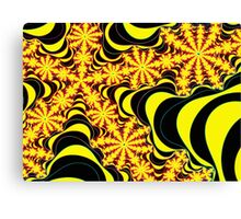 Fractal forest canopy Canvas Print