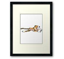 Triumph Tiger Framed Print