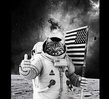 ASTRONAUT CAT by maioriz