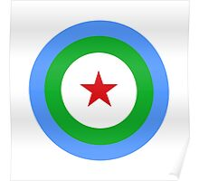Djibouti Air Force - Roundel Poster