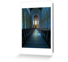 Cathedral II Greeting Card