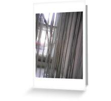 Curtain Greeting Card