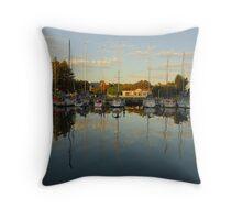 Port Fairy Dusk Throw Pillow