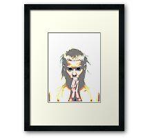 Trippy Yolandi Framed Print