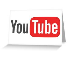 Youtube Greeting Card