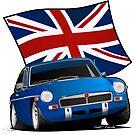 British Sports Car _ MG by Greg Hamilton