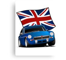 British Sports Car _ MG Canvas Print