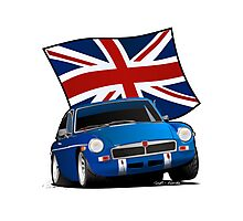 British Sports Car _ MG Photographic Print