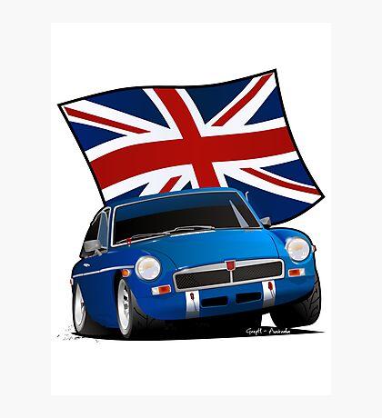 British Sports Car _ MG Photographic Print