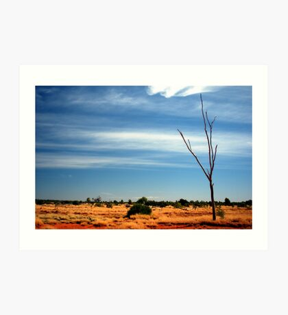 Our Vivid & Colourful Outback © Vicki Ferrari Photography Art Print