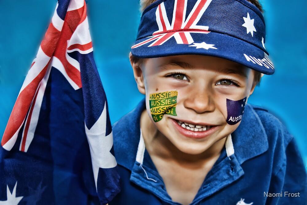 Happy Australia Day by Naomi Frost