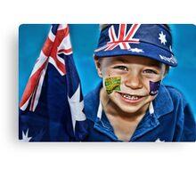Happy Australia Day Canvas Print