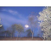 Quilpie at Night © Vicki Ferrari Photography Photographic Print