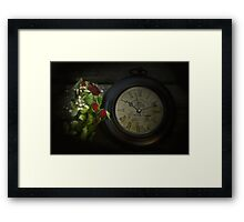 Faded Time Framed Print
