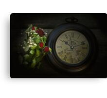 Faded Time Canvas Print