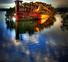 Ghost Ship II by Mark Moskvitch