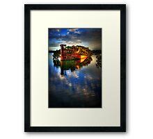 Ghost Ship II Framed Print