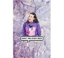 Miranda Sings - What The Even Heck Photographic Print