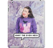 Miranda Sings - What The Even Heck iPad Case/Skin