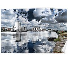 Cardiff Bay - Lucis Art Poster