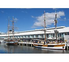 Hobart Docks Tasmania Photographic Print