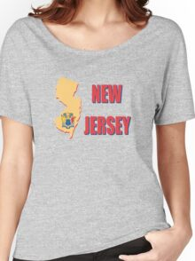 New Jersey state flag Women's Relaxed Fit T-Shirt