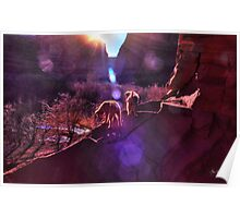 Navajo Pups Welcome Dawn Poster