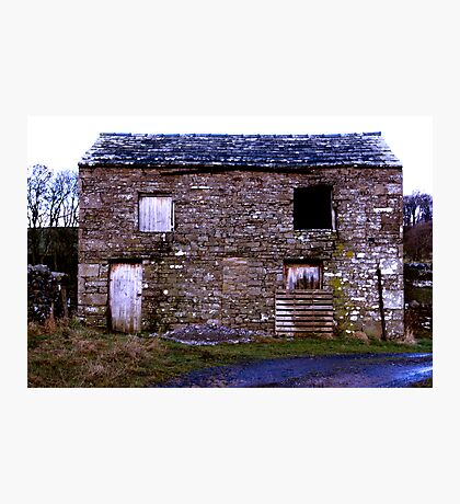 Old Stone Barn Photographic Print