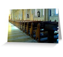 Cathedral V Greeting Card
