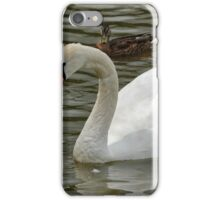 Swan and Baby iPhone Case/Skin